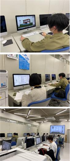도쿄디자인전문학교 인테리어디자인과 CAD수업 2.jpg